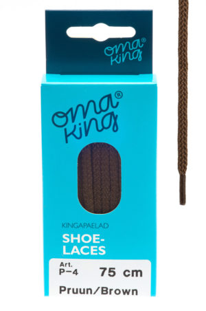 omaking shoelaces p-4 brown