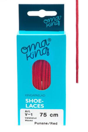 OmaKing jalatsipaelad V-1 punane
