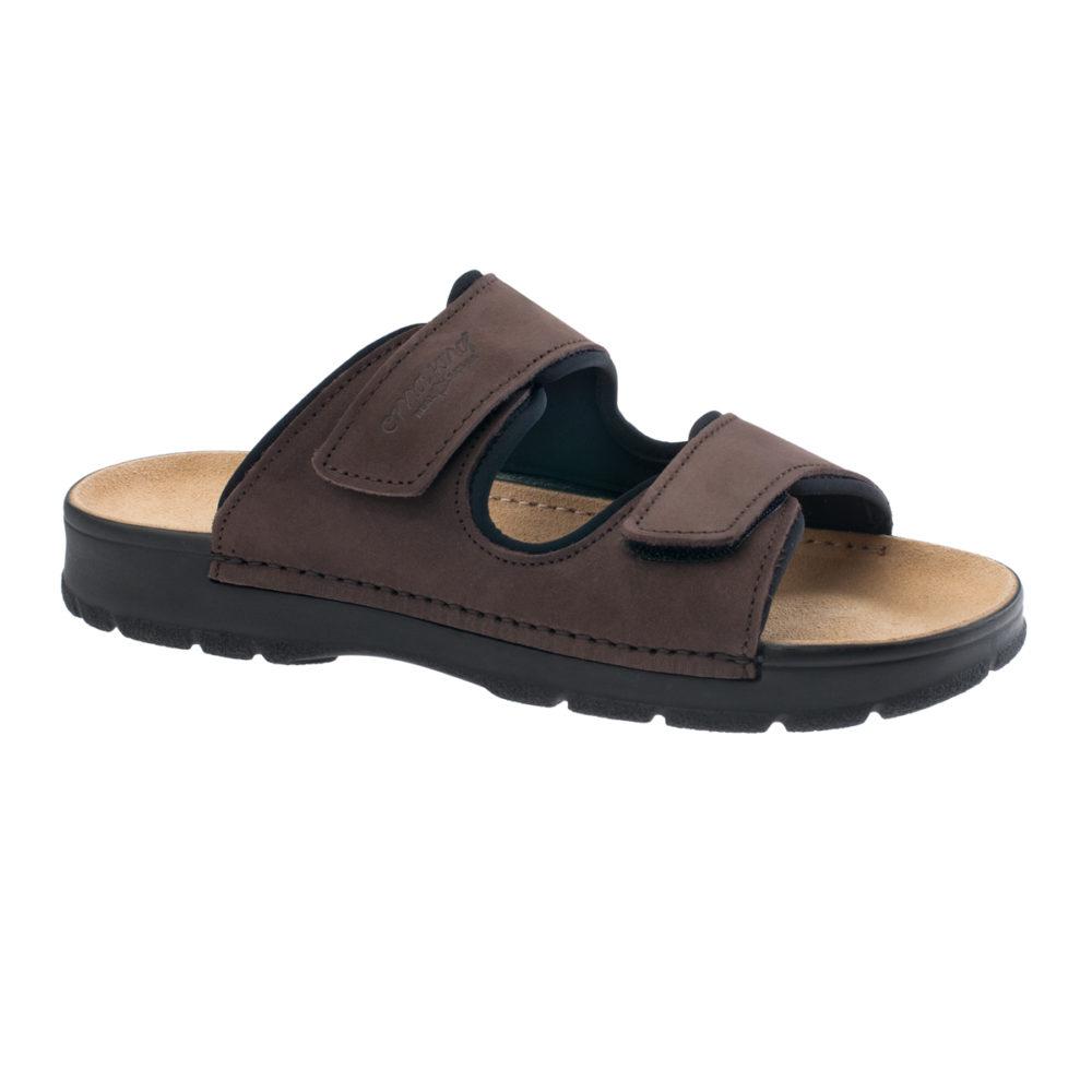 omaking-jalgatorgatav-nahast-sandaal-meestel-mc430-pruun