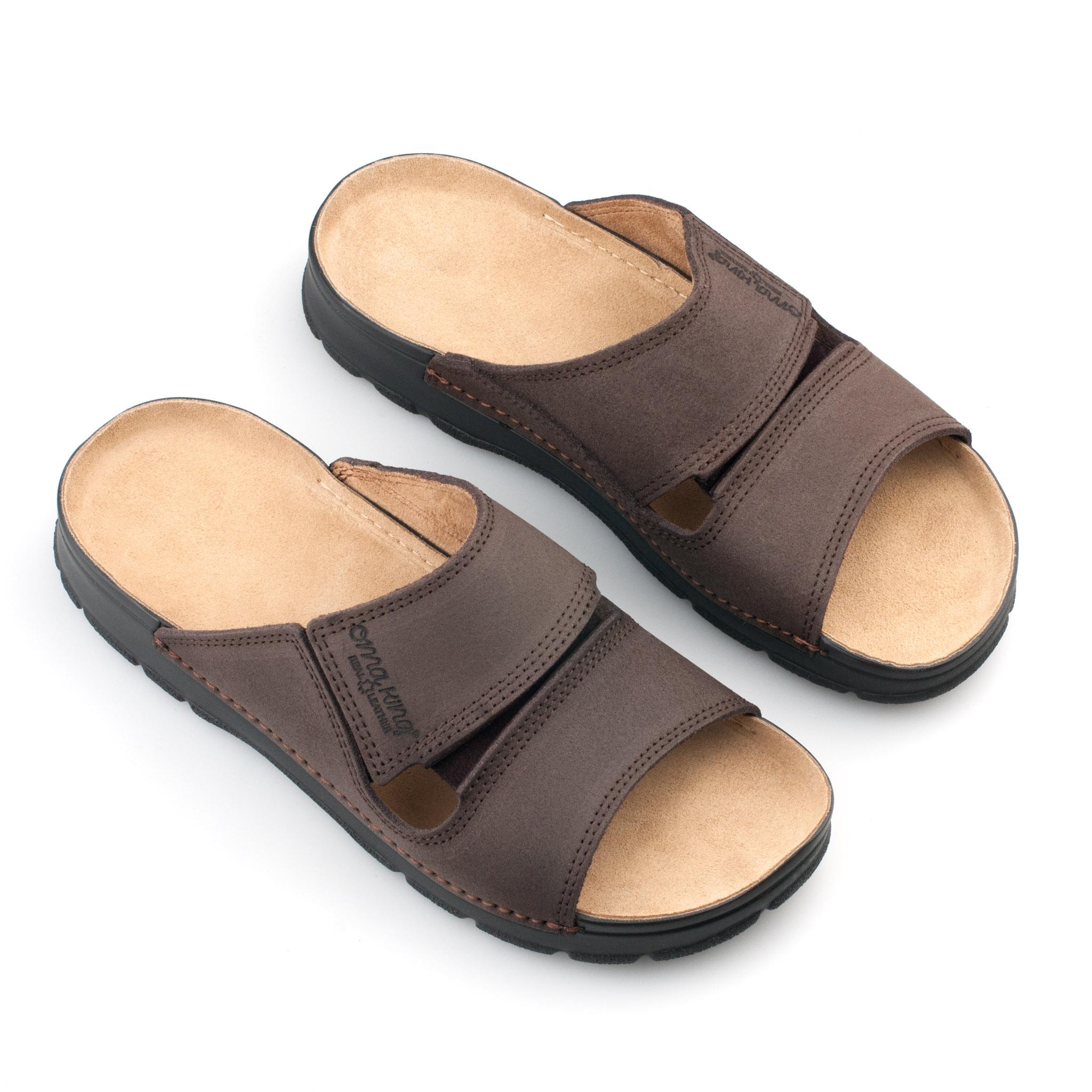b2bce3b4c8b OmaKing jalgatorgatavad nahast sandaalid Miku pruun. OmaKing  jalgatorgatavad ...