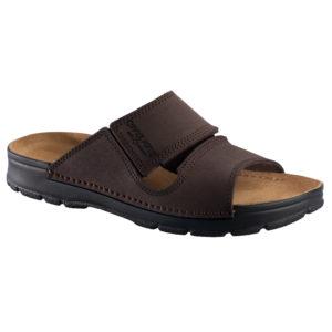 OmaKing jalgatorgatavad nahast sandaalid Miku pruun