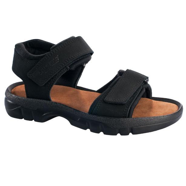 OmaKing kahe takjakinnisega sandaalid Tiidu must