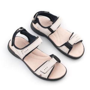83c42703ea5 OmaKing kerged sportlikud nahast sandaalid Liiva valge. Esileht / Sandaalid