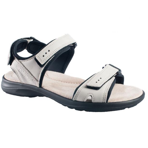 OmaKing kerged sportlikud nahast sandaalid Liiva valge