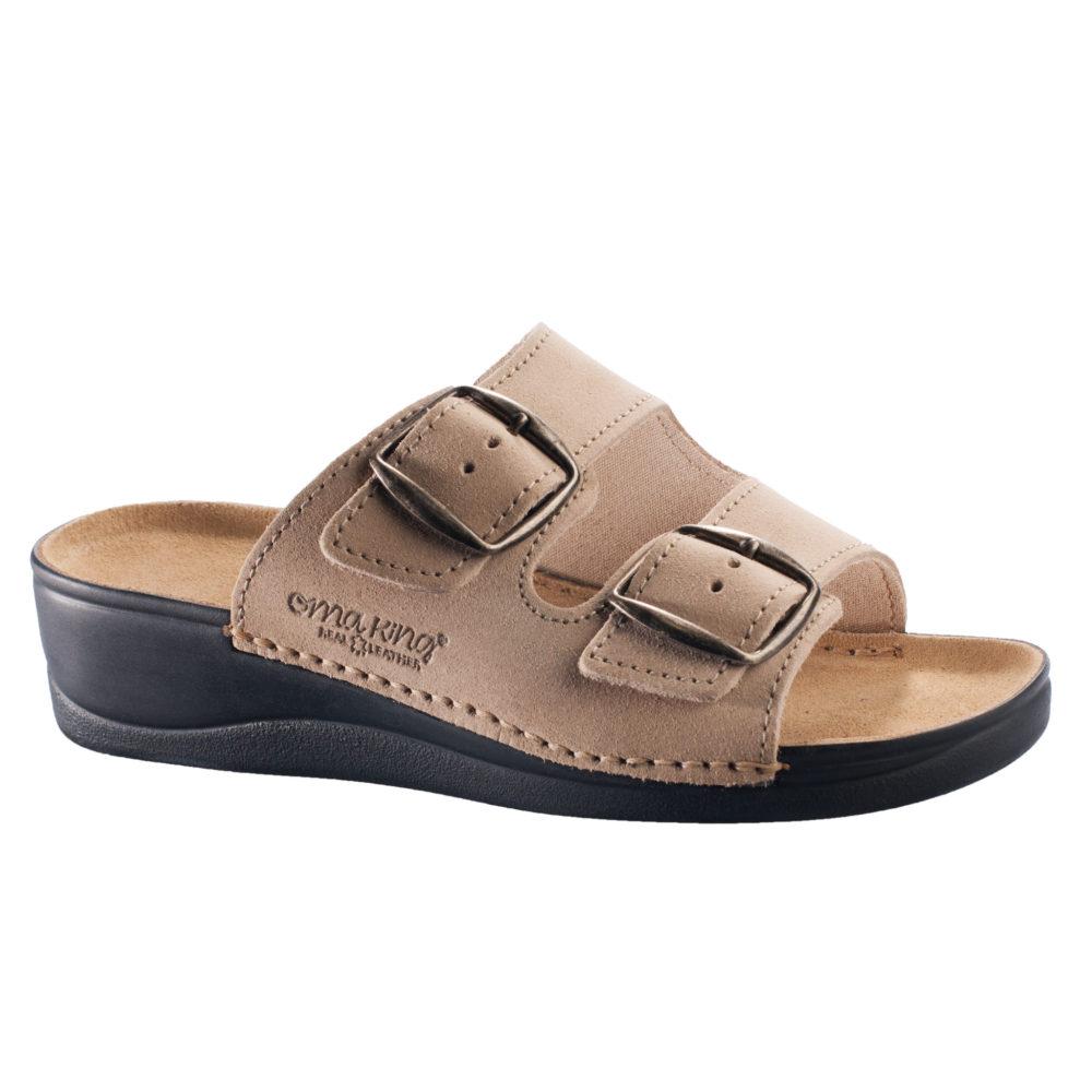OmaKing klassikalised kiilkontsaga sandaalid Anne beež