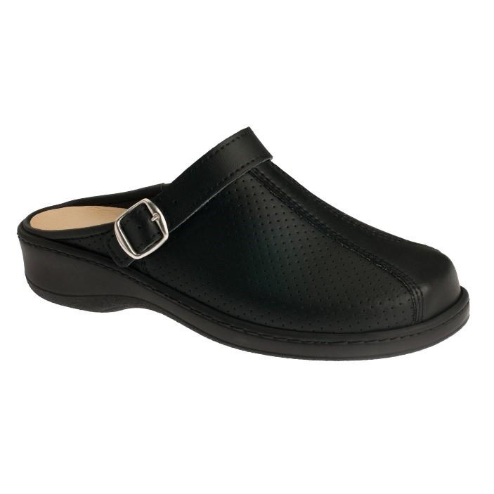 omaking-professional-perforeeritud-nahast-sandaal-mp350-must