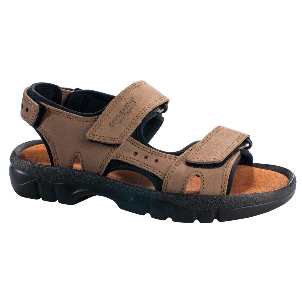 OmaKing sportlikud nahast sandaalid Lauri khaki