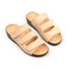 OmaKing takjakinnistega nahast sandaalid Laisi beež