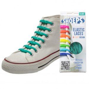 SHOEPS elastic laces green