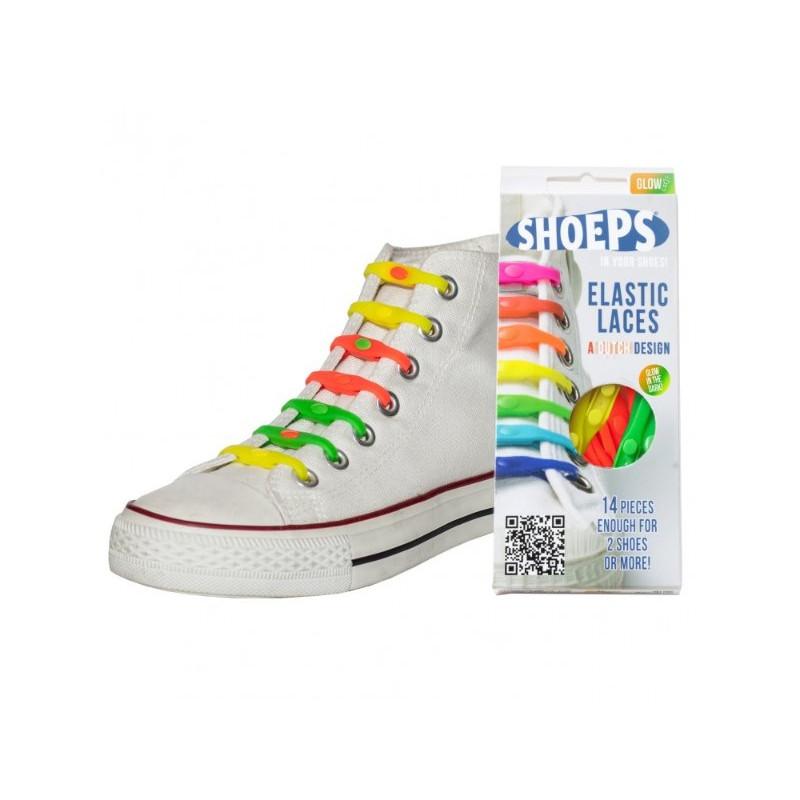 SHOEPS elastikpaelad värviline/helendav